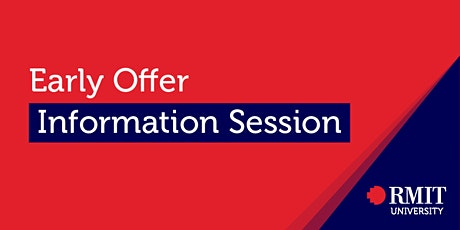 Early Offer Information Session tickets