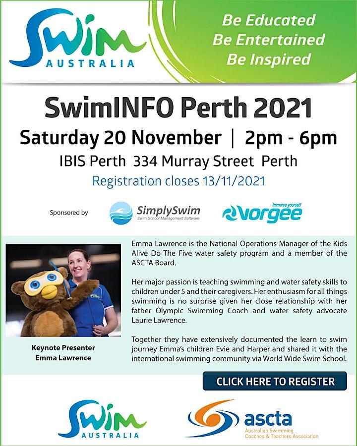 SwimINFO PD Session - Perth image