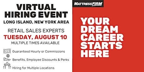 Long Island Area Virtual Hiring Event tickets