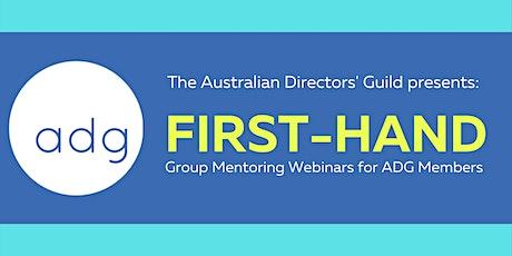 ADG-40 First-Hand Group Mentoring: Kriv Stenders tickets