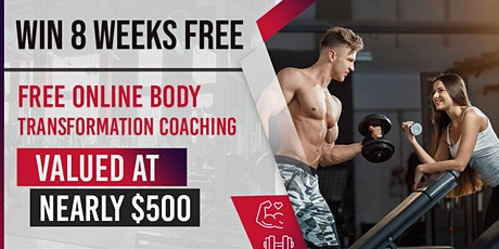Win 8 Weeks Free Online Body Transformation Coaching Valued at nearly $500! billets
