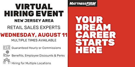 New Jersey Virtual Hiring Event tickets