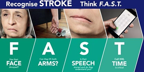 United by Stroke – a special BWN online event for National Stroke Week tickets