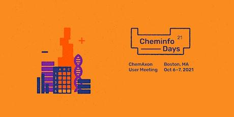 Cheminfo Days - ChemAxon User Meeting tickets