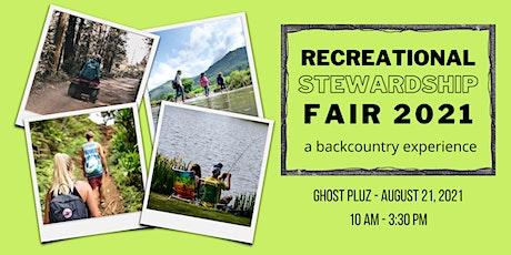 Recreational Stewardship Fair - Ghost PLUZ tickets