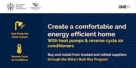 Create a Comfortable & Energy Efficient Home  - Mornington Peninsula Shire tickets