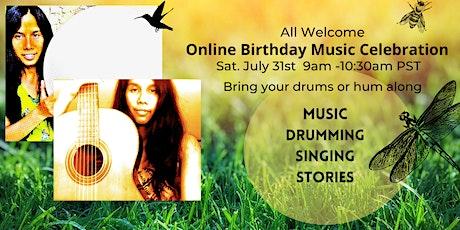 Birthday Music, Drumming and Singing Celebration with Miranda tickets