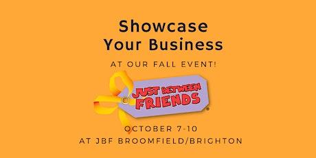 Vendor Registration JBF Broomfield/ Brighton Fall 2021 tickets