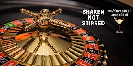 Shaken not Stirred - an afternoon of James Bond tickets