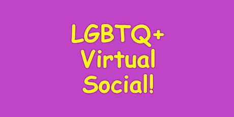 LGBTQ+ Virtual Social tickets