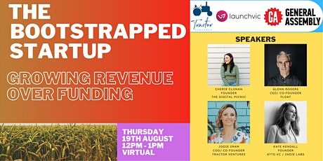 The Bootstrapped Startup: Growing Revenue Over Funding tickets