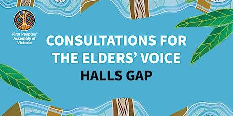 Elders' Voice Consultation - Halls Gap tickets