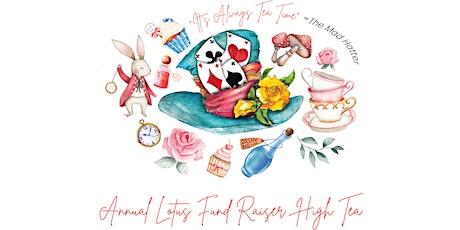 High Tea Fundraiser for Lotus tickets