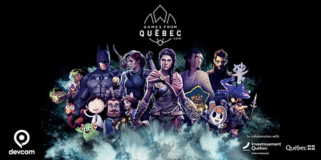 Games from Quebec @ Devcom - a playful summer gathering tickets