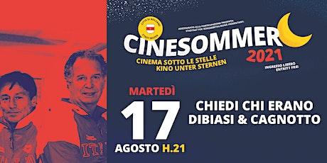Chiedi chi erano Dibiasi e Cagnotto - Cinesommer 2021 biglietti