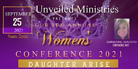 DAUGHTER ARISE- Unveiled Ministries 3rd Annual Wom tickets