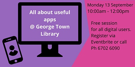 All about useful apps @ George Town Library tickets