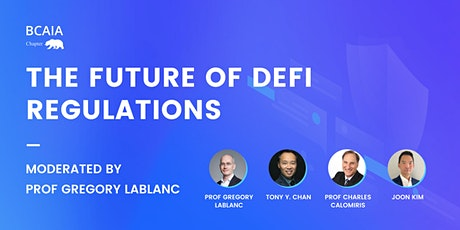 The future of Defi Regulations tickets