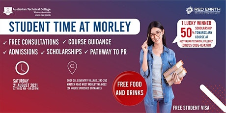 Student Time at Morley tickets