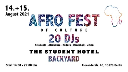 AFRO FEST of Culture Festival - Samstags Ticket Tickets
