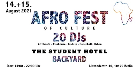 AFRO FEST of Culture Festival - Sonntags Ticket Tickets