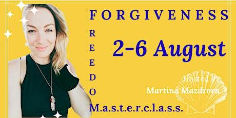 Forgiveness Freedom Masterclass tickets