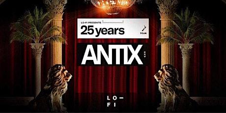 ANTIX25YRS tickets