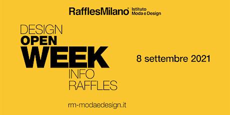 Raffles Milano - Design Week 2021 biglietti