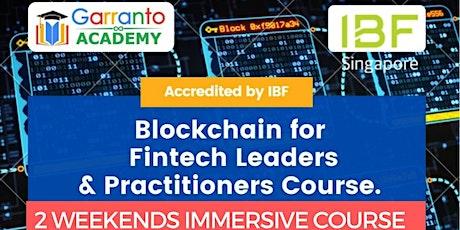 Blockchain For Fintech Leaders & Practitioners entradas