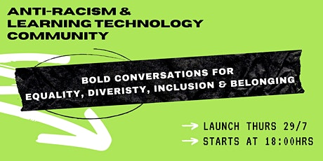 Bold Conversations  for Equality, Diversity, Inclusion & Belonging tickets