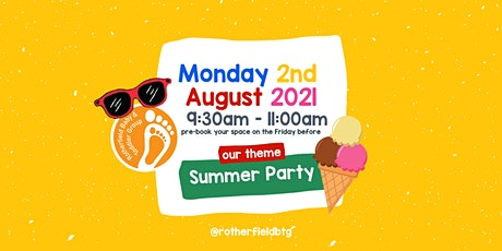 Rotherfield Baby & Toddler Group - Monday 2nd August tickets