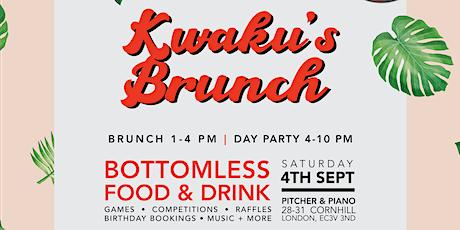 Kwaku's Brunch: The Bottomlesss Food & Drink Brunch Party tickets