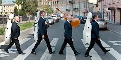 """Cuarteto Rastrelli - """"De Brahms a los Beatles"""" entradas"""