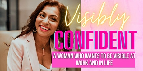 Free Visibly Confident Masterclass tickets