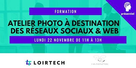 Atelier photo à destination des réseaux sociaux et site web ! billets