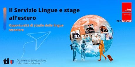 Consulenze di Lingue e stage all'estero biglietti