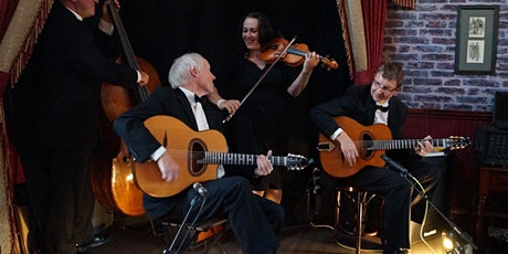 Hot Club du Nord turn our village hall into a swinging 1930s Parisian cafe! tickets