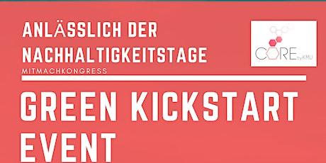 Green Kickstart Online Event anläßlich der Nachhaltigkeitstage Tickets
