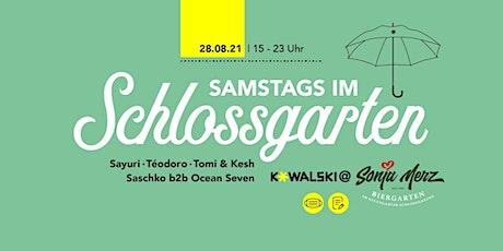 Samstags im Schlossgarten Tickets