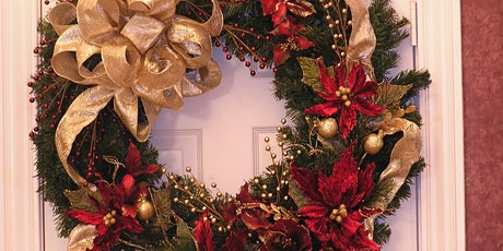 Flower Arranging-Christmas Wreath-Mansfield Central Library-Community tickets