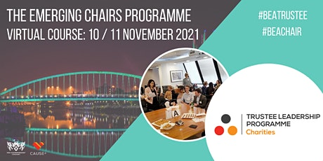 Virtual Emerging Chairs Programme tickets