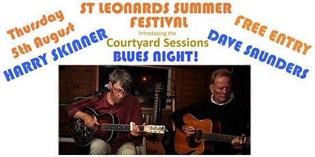 St Leonards Live & Unlocked - Harry & Dave @ Courtyard Sessions - 5-8-21 tickets