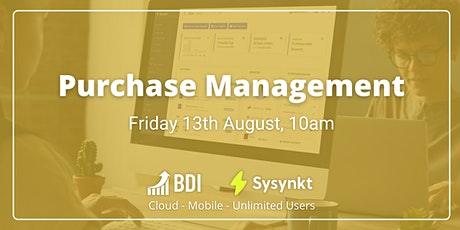 Purchase Management tickets