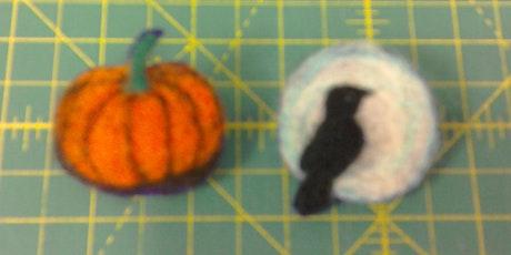 Beginner's Needle Felting - Halloween Brooch tickets
