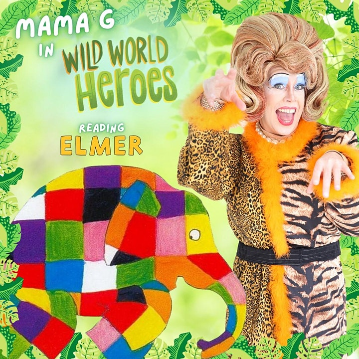 Wild World Heroes with Mama G! Summer Storytime at Dartford Library image