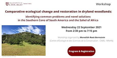Comparative ecological change and restoration in dryland woodlands billets