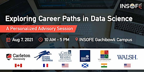 Exploring Career Paths in Data Science - A Personalized Career Advisory Ses tickets