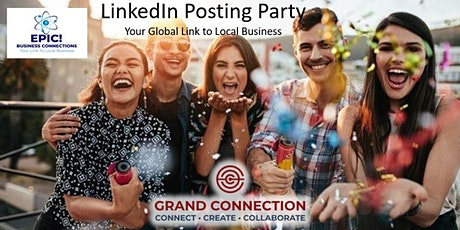Linkedin Posting Party - Multiple Dates - 7:00 PM Eastern tickets