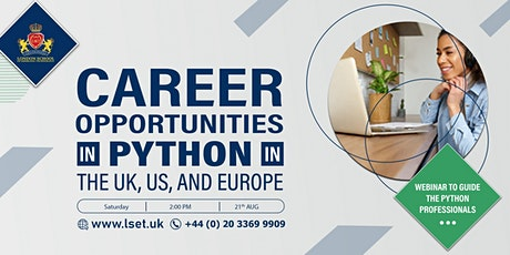 Career Opportunities in Python in the UK, US, and Europe biglietti