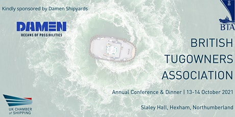 British Tugowners Association Conference & Dinner 2021 tickets